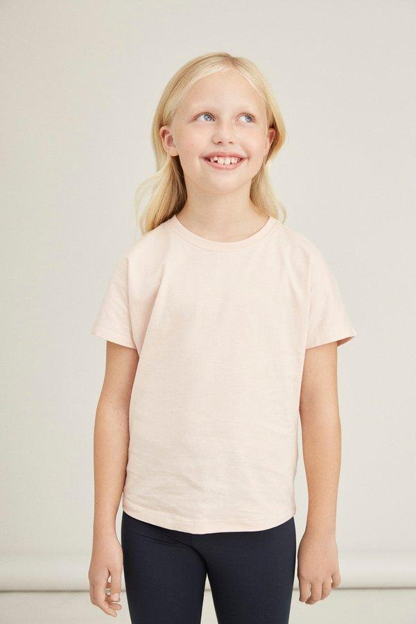 NKF T-Shirt rosa kurzarm
