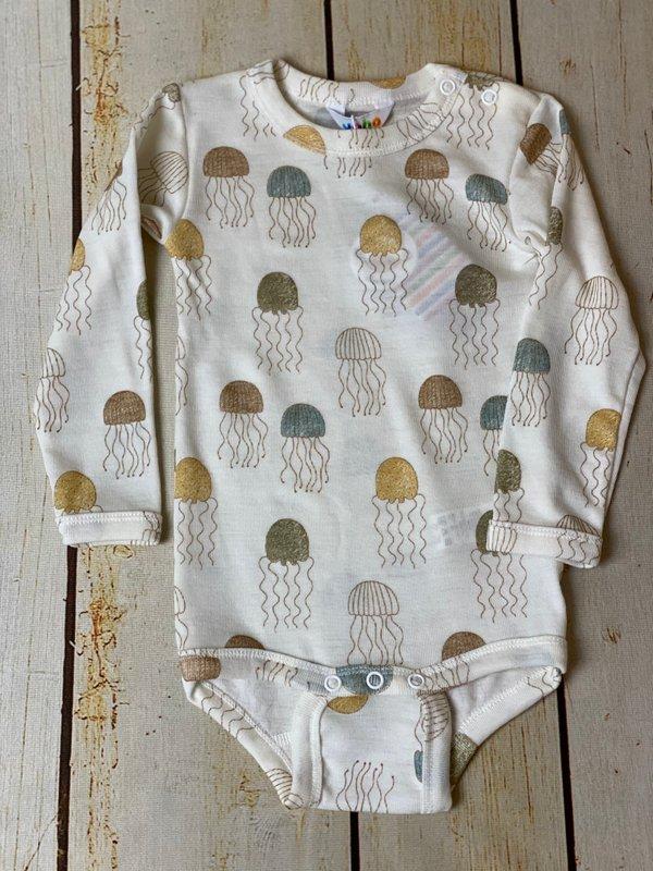 'Qualle' Wolle/Seide Body von Joha