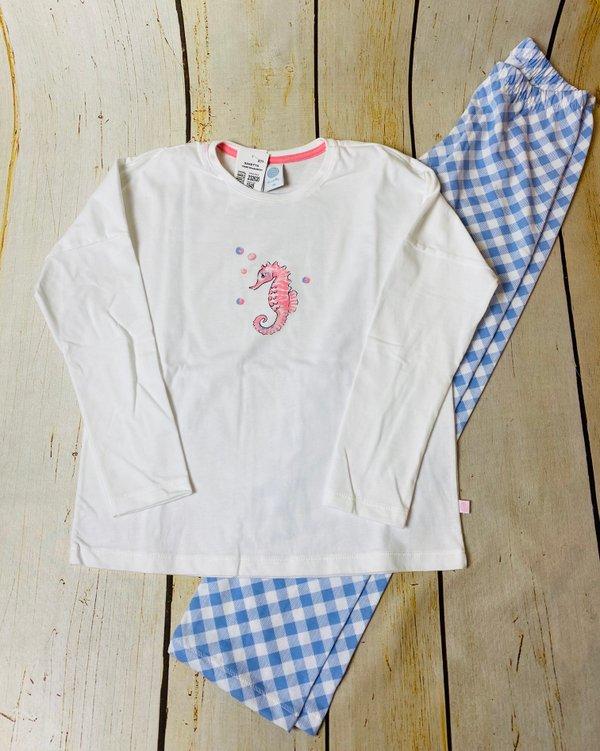 Seepferdchen Schlafanzug von Sanetta