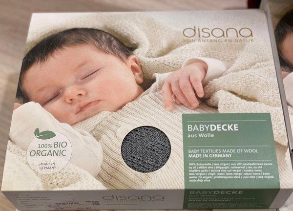 Disana BabyDecke aus Wolle