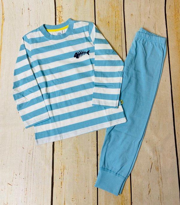 gestreifter Schlafanzug von Sanetta